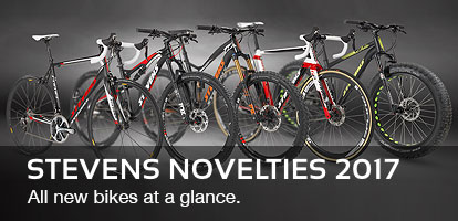 STEVENS Novelties 2017: All new bikes at a glance.